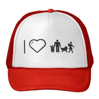I Love Family Likes Trucker Hat