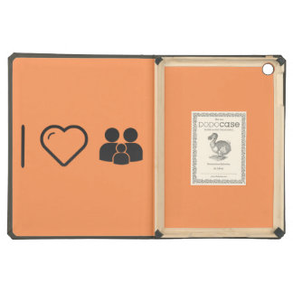 I Love Family Plannings iPad Air Covers