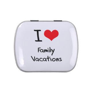 I Love Family Vacations Jelly Belly Tin