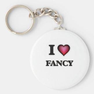 I love Fancy Keychain