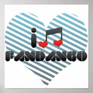 I Love Fandango Print