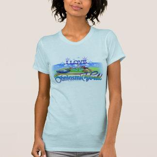I Love FantasmicWorld (Theme Park) T-shirt