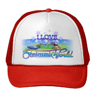 I Love FantasmicWorld (Theme Park) Trucker Hat