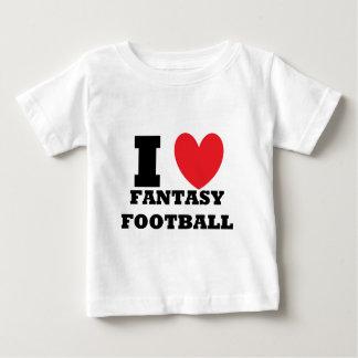 I Love Fantasy Football Baby T-Shirt