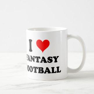 I Love Fantasy Football Coffee Mug