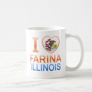 I Love Farina, IL Coffee Mug