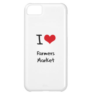 I Love Farmers Market Cover For iPhone 5C