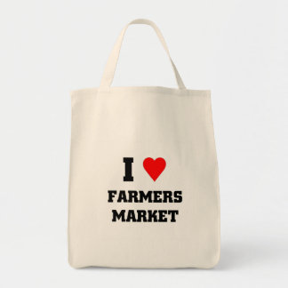 I love Farmers Market Tote Bag
