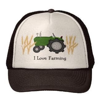 I Love Farming Mesh Hat