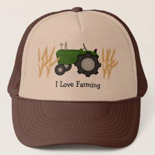 c7f56300ecf I Love Farming Baseball   Trucker Hats