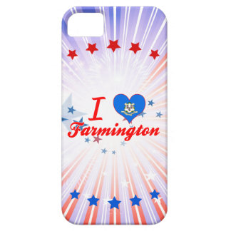 I Love Farmington, Connecticut iPhone 5 Cases