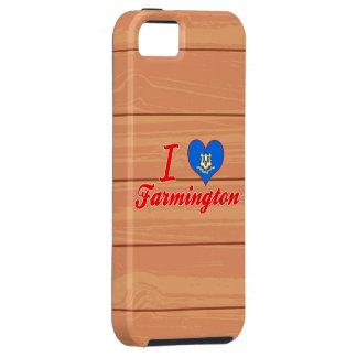 I Love Farmington, Connecticut iPhone 5 Cover