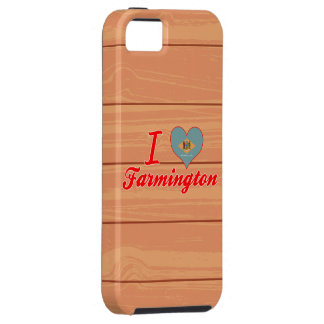 I Love Farmington, Delaware iPhone 5 Cases