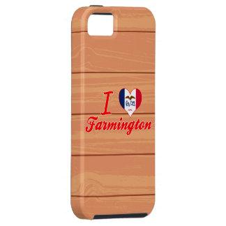 I Love Farmington, Iowa iPhone 5 Case
