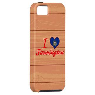 I Love Farmington, New Hampshire iPhone 5 Covers