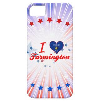 I Love Farmington, Wisconsin iPhone 5 Covers