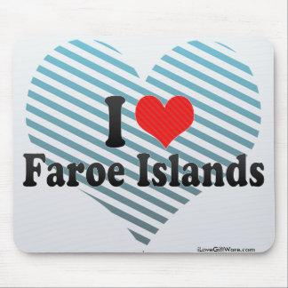 I Love Faroe Islands Mouse Pad