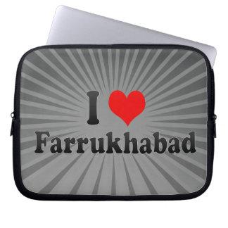 I Love Farrukhabad, India Laptop Sleeve