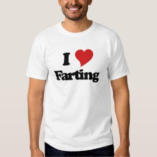 I Love Farting T Shirt