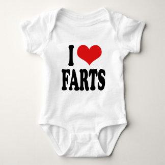 I Love Farts Baby Bodysuit