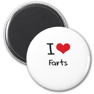 I Love Farts Fridge Magnets