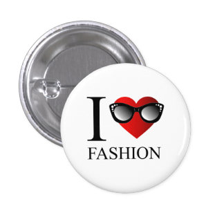 I love fashion button