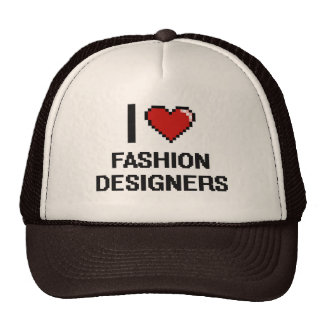 I love Fashion Designers Trucker Hat