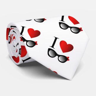 I love fashion eye wear tie