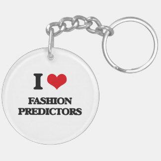 I love Fashion Predictors Acrylic Keychain