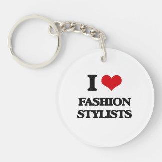 I love Fashion Stylists Acrylic Keychains