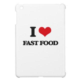 I love Fast Food iPad Mini Cover