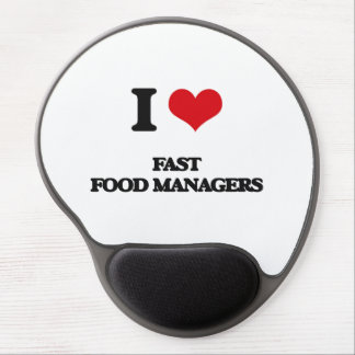 I love Fast Food Managers Gel Mouse Mats