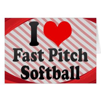 I love Fast Pitch Softball Cards