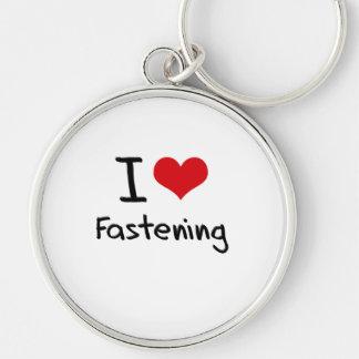 I Love Fastening Key Chains