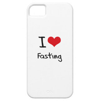 I Love Fasting iPhone 5 Case