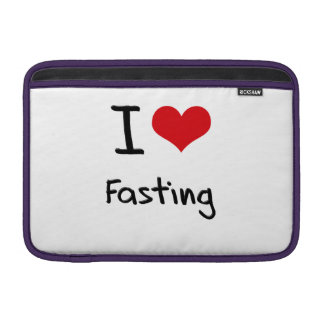 I Love Fasting Sleeves For MacBook Air