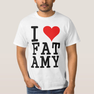 i love fat amy T-Shirt