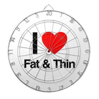 i love fat and thin dartboards