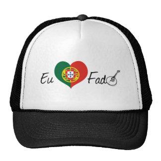 I Love Fate Trucker Hats