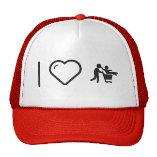 I Love Father Groceries Trucker Hat