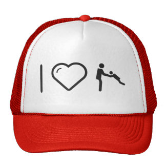 I Love Father Plays Trucker Hat