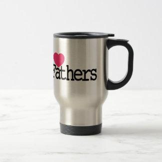 I Love Father Travel Mug