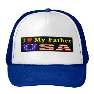 I Love Father USA Trucker Hat