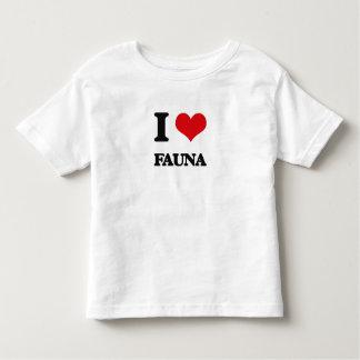 I love Fauna Tee Shirt