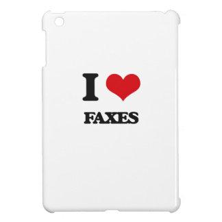 I love Faxes Case For The iPad Mini