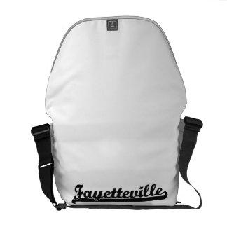 I love Fayetteville North Carolina Classic Design Messenger Bag