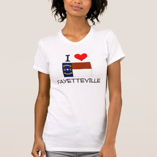 I Love Fayetteville North Carolina T-Shirt