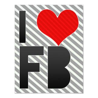 I Love FB Card
