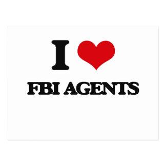 I love Fbi Agents Post Cards