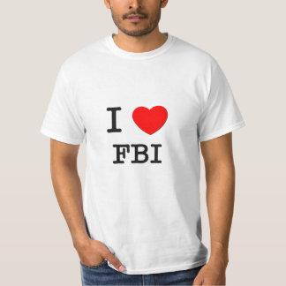 I Love Fbi T-shirts